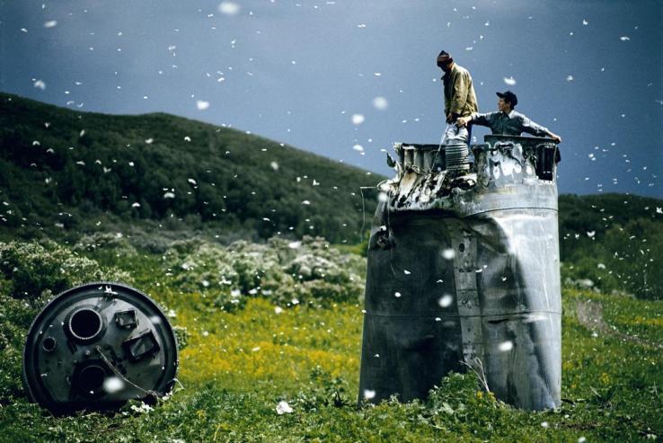 Jonas Bendiksen - spacecraft butterflies