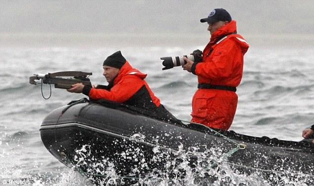 Vladimir Whale Hunting