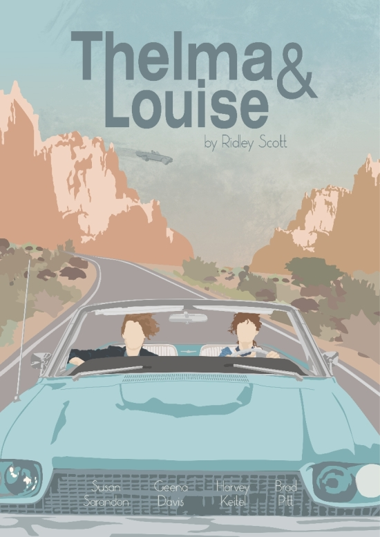 Thelma and Louise CYMK